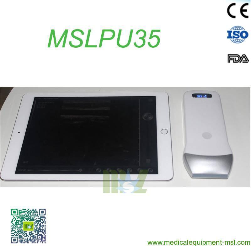 2016 Advanced wireless ultrasound Scan linear Probe MSLPU35