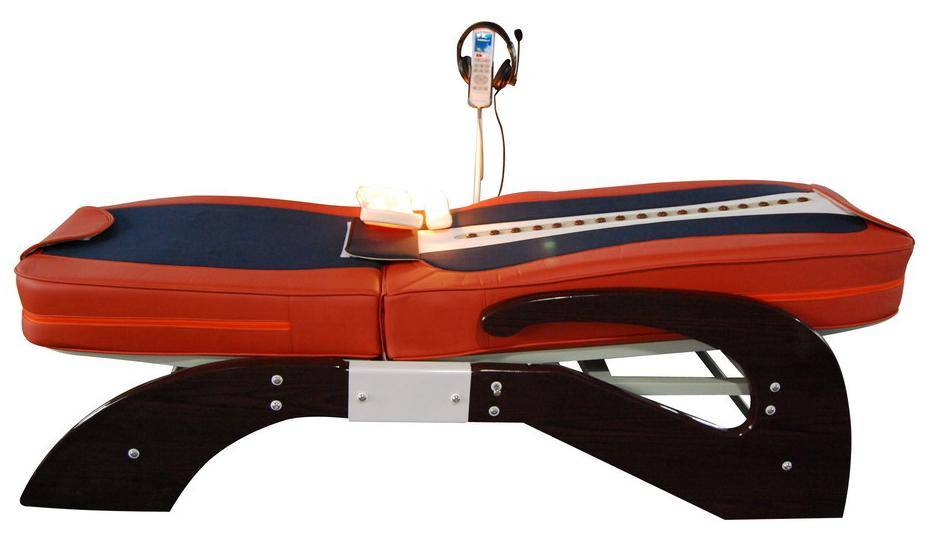 Massage bed with music and lift