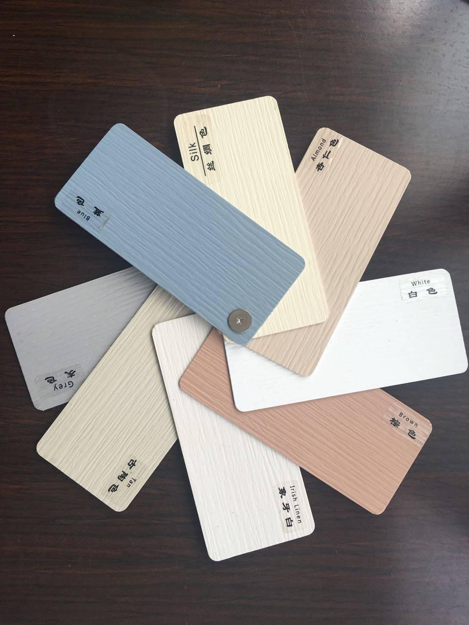 PVC The color card