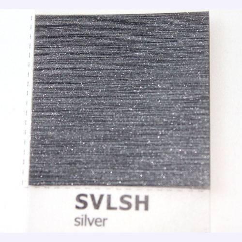 Silver matt brushed