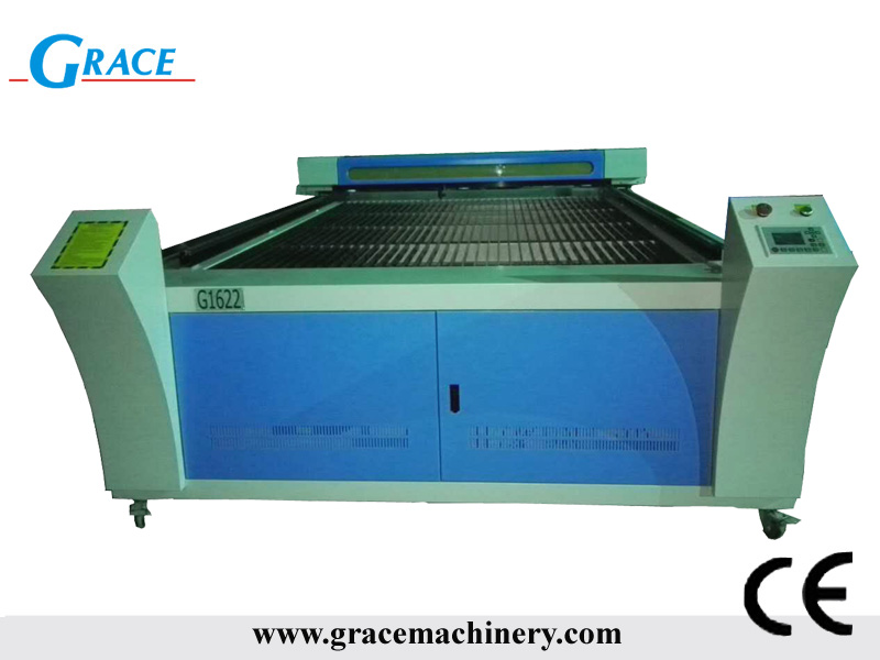 1622 150w laser machine for two color board working