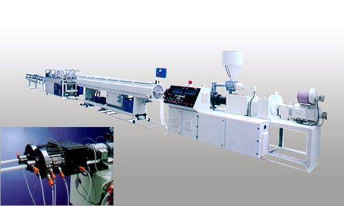 GF-63 twin pipe extrusion production line