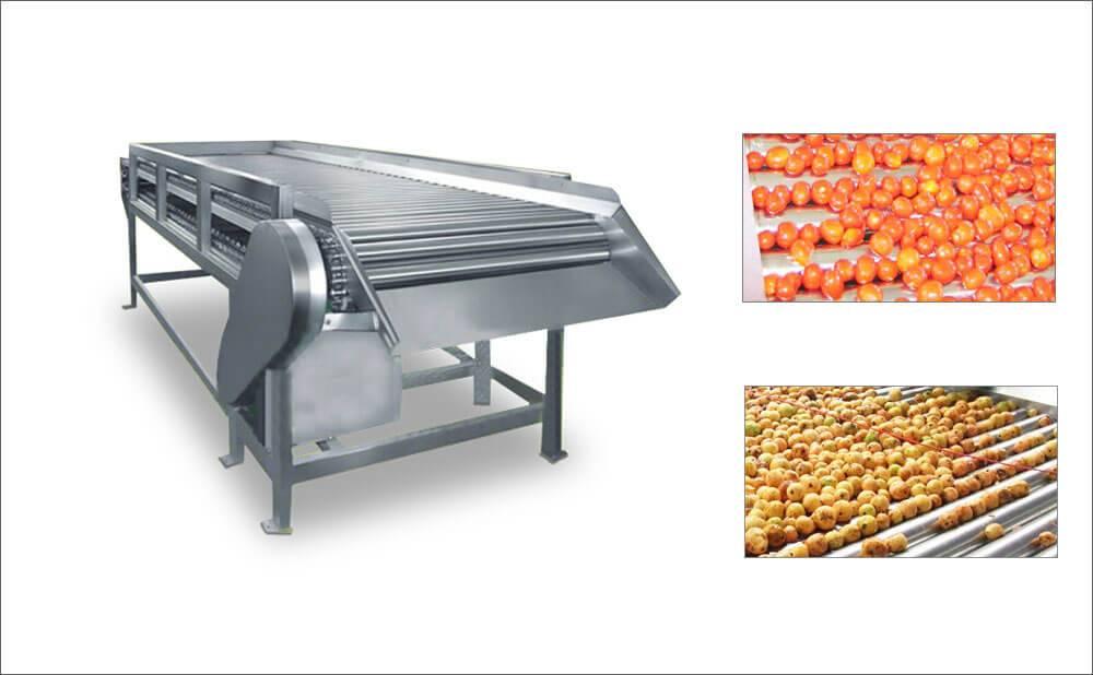Stainless Steel Roller Conveyor Belt Equipment For Industrial Use