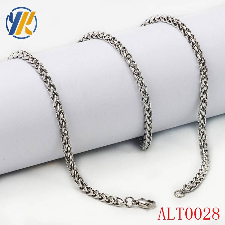 316L Stainless Steel Jewelry Link Chain Necklace