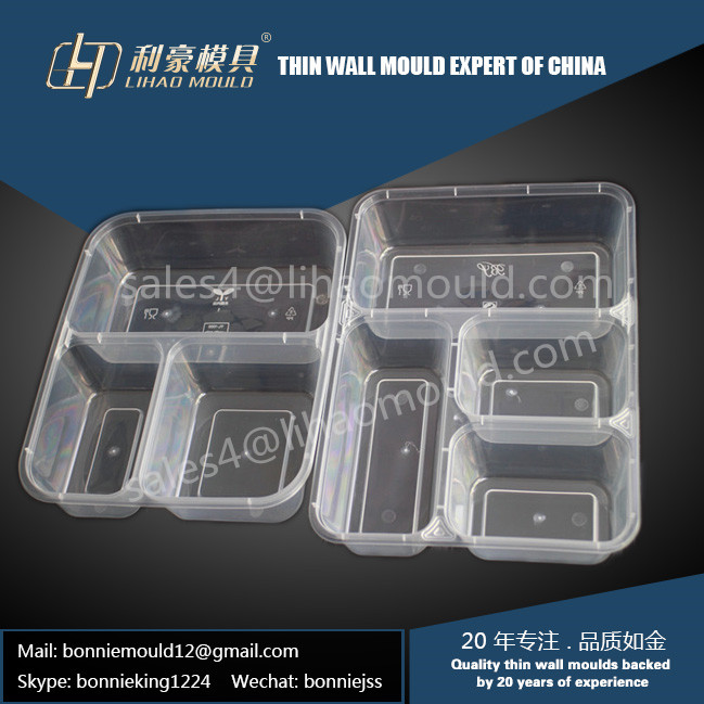 high quality compartment lunch container mould supplier