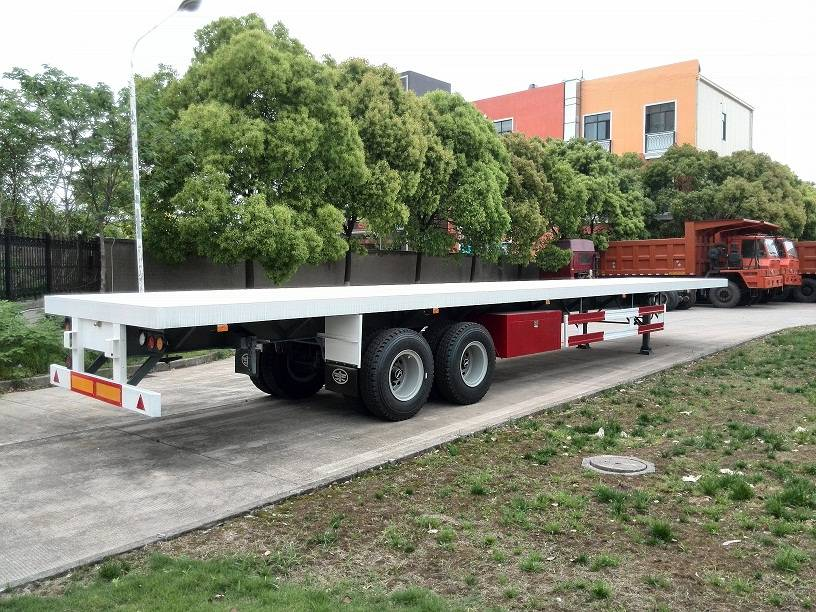 40ft 2-Axle Flatbed Trailer