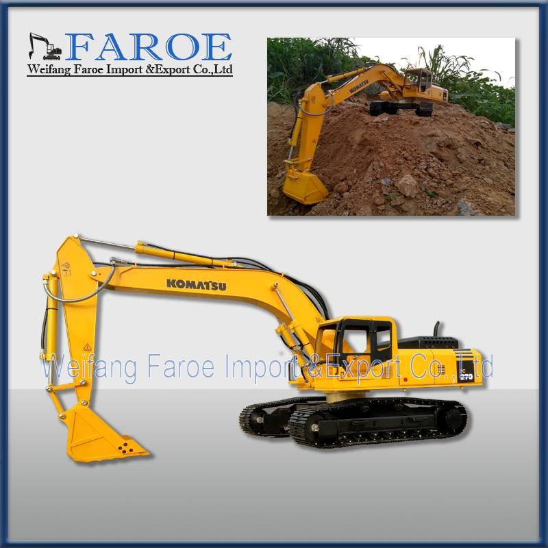 1:12 Hydraulic RC excavator model