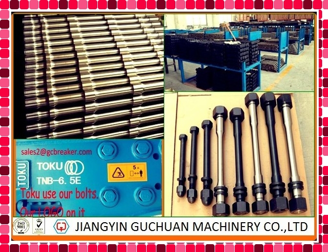 Hydraulic Breaker Hammer Spare Parts Side Bolts with High Quality