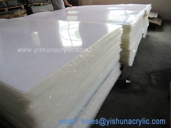 3 mm good quality transparent plastic sheet acrylic sheet for model making