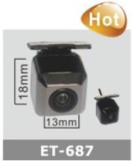 Car Camera Popular ET-687 CCTV  HD Night vision wide angle