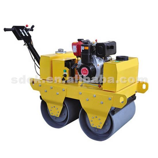 double drum handheld road roller,hand roller compactor