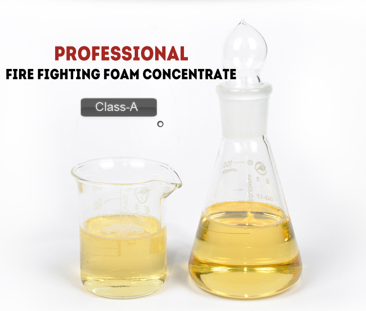 Class A fire fighting foam concentrate