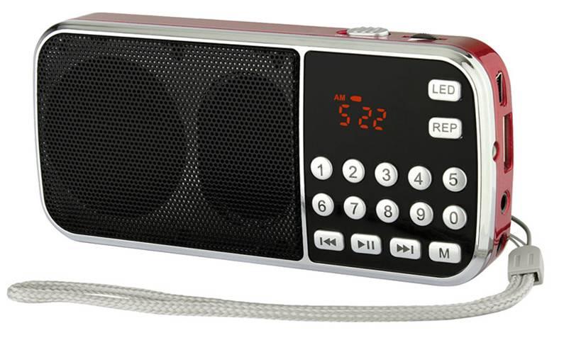 Hot Sale Super Bass Portable FM/AM Radio L-088AM