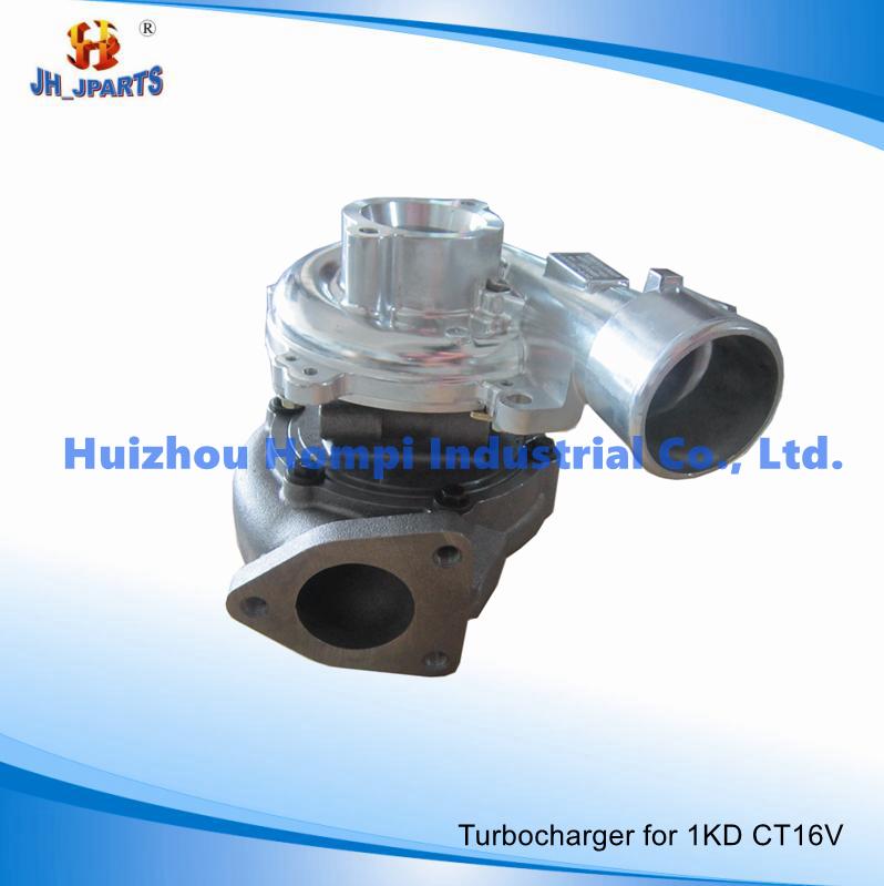 Turbocharger for Toyota 1kd-Ftv CT16V 17201-0L040 2kd-Ftv/1CD-Ftv/1vd-Ftv