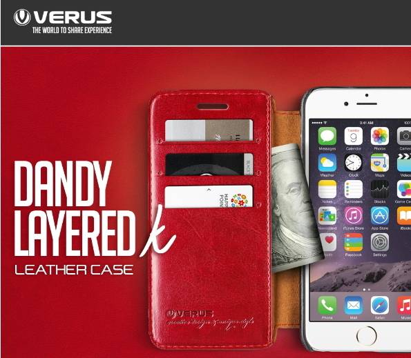 VERUS Dandy Layered Leather case - iPhone6/6s, 6 Plus/6s Plus - Mobile phone case, Mobile phone acce