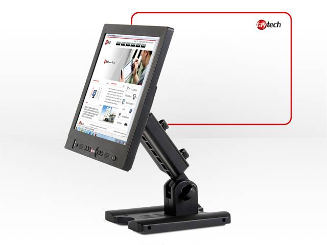 10 inch industrial touch screen monitor with led backlight
