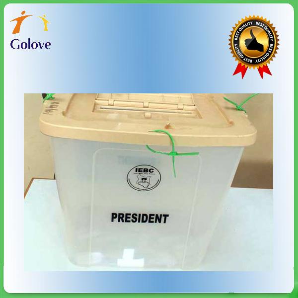 Floor Standing Acrylic Stackable Plastic Ballot Box