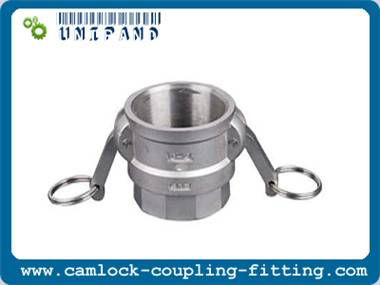 Stainless Steel Camlock Fittings (cam and groove quick coupling)-Type D