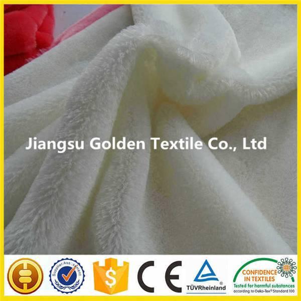 Polyester Printed PV Fleece/Plush Faux Fur Throw Blanket