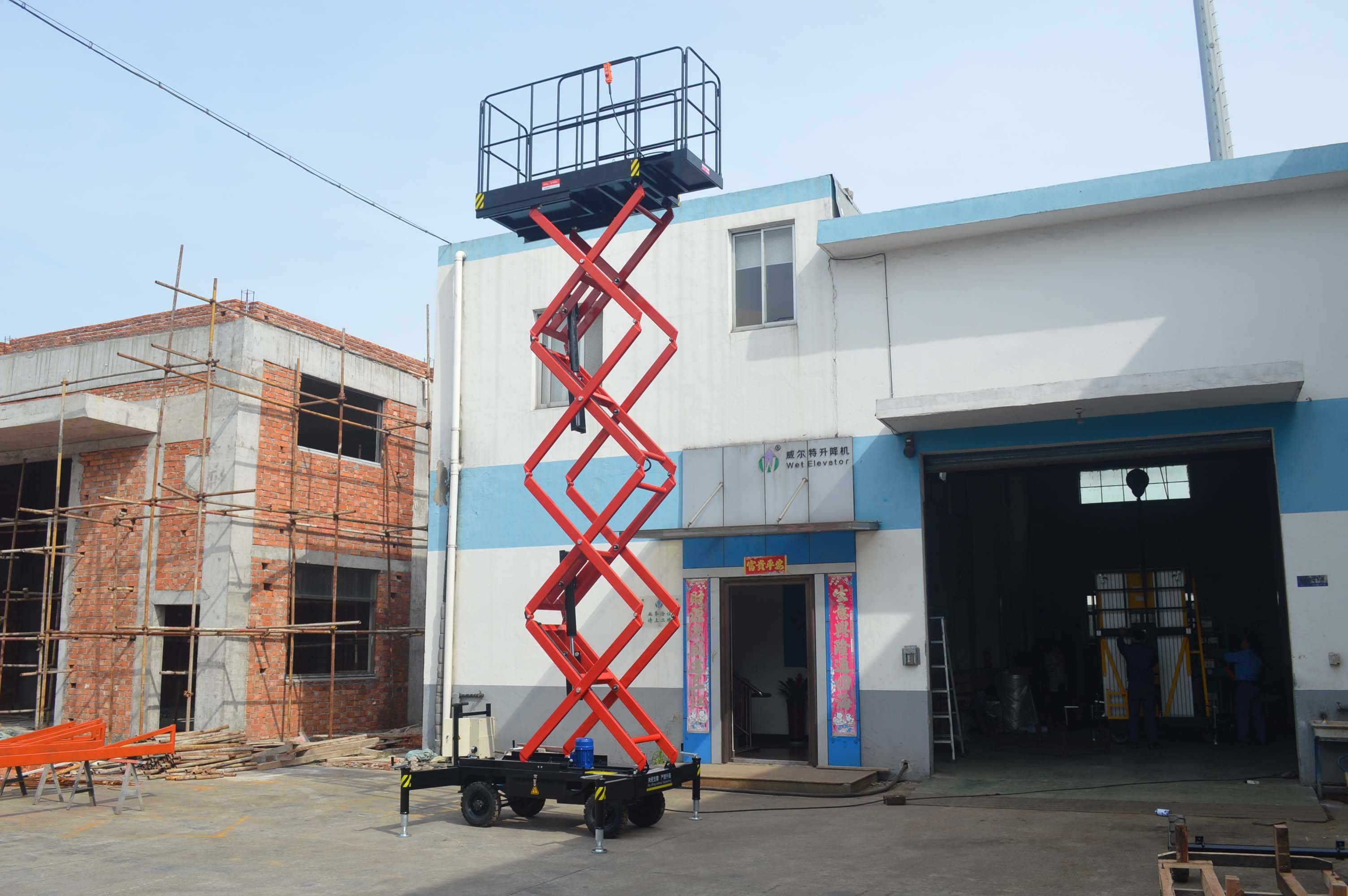 Self propelled Scissor Type Work Platform / lift 450kg