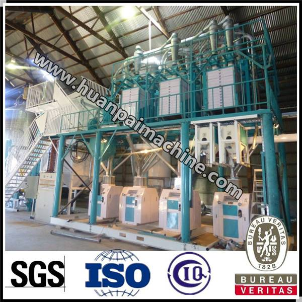 Excellent design 60 TPD wheat flour milling machine with price