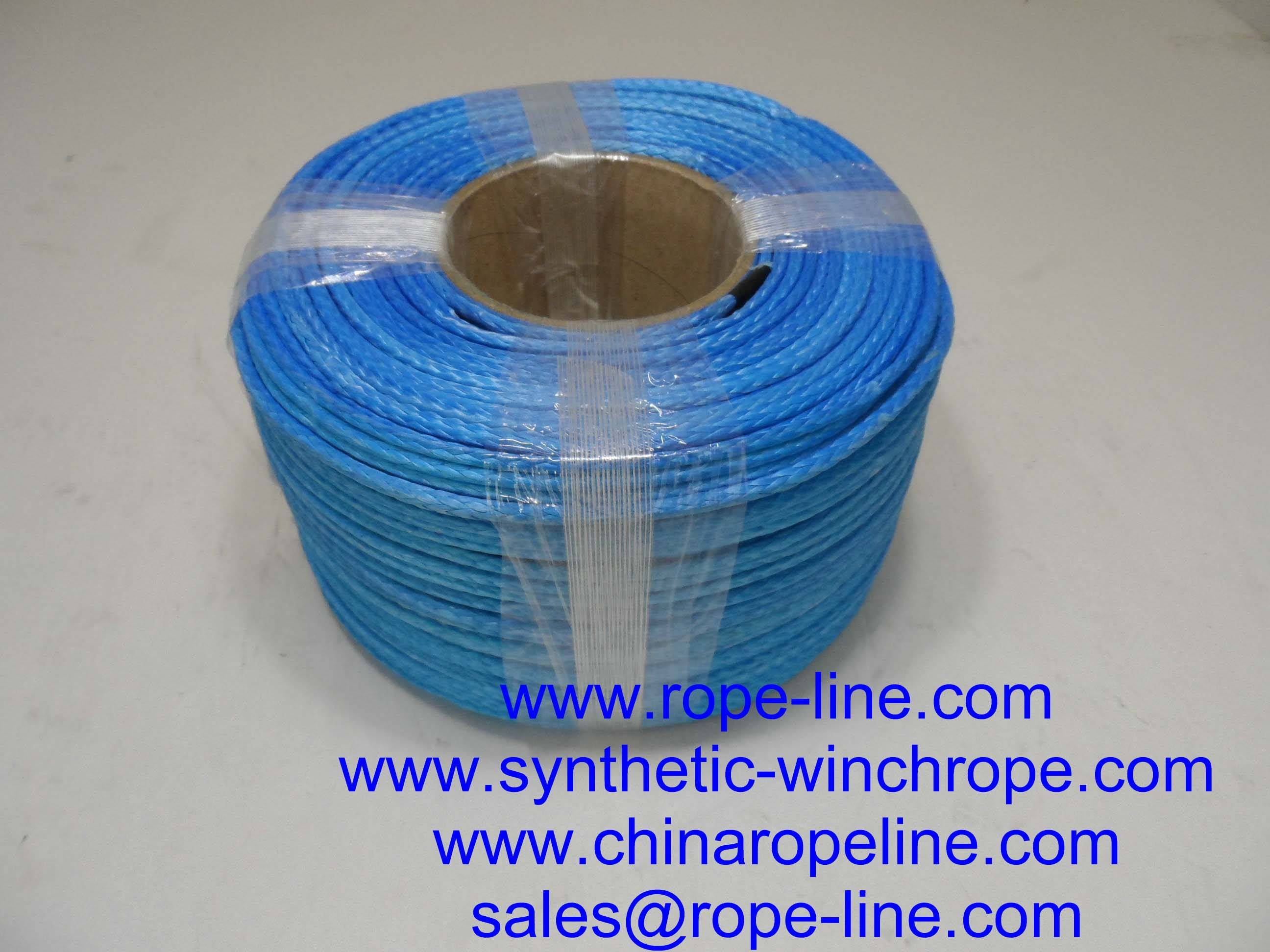 samson amsteel blue winch rope