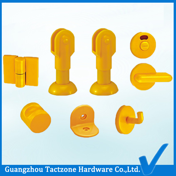 Wholesale Plastic Bathroom Cubicle Accessories for Toilet Partition