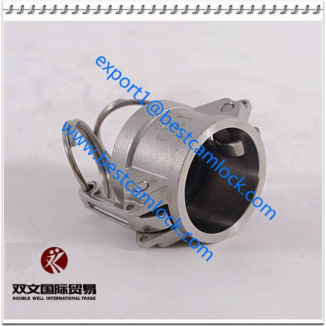 304 316 Stainless Steel camlock quick coupling type DC, SS camlock coupling