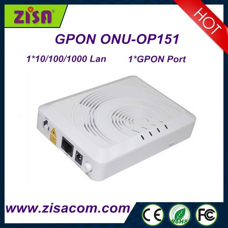 1GE gpon onu original optical network terminal ftth on