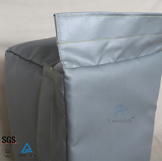 25mm Silicone Fiberglass Thermal Insulation Blanket Grey Color