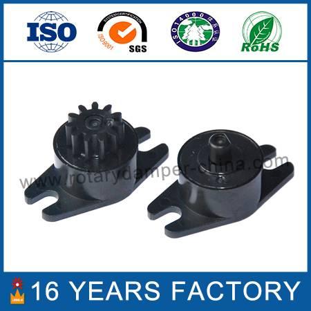 Plastic oil rotary damper