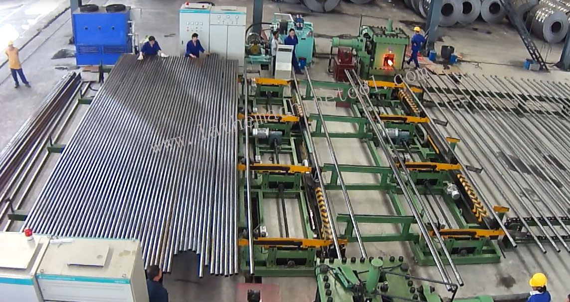 Attractive price drill collar production line for Upset Forging of Oil Extraction rod