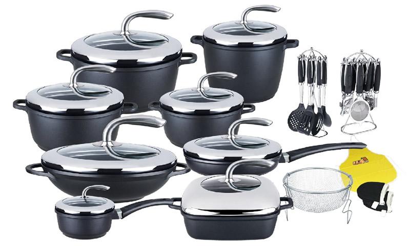 35pcs cookware sets