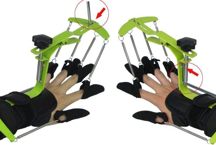 wrist and finger dynamic ortosis