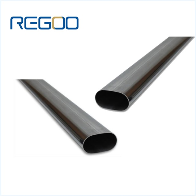 6000 Series Anodized Oval Aluminum Pipe Tube