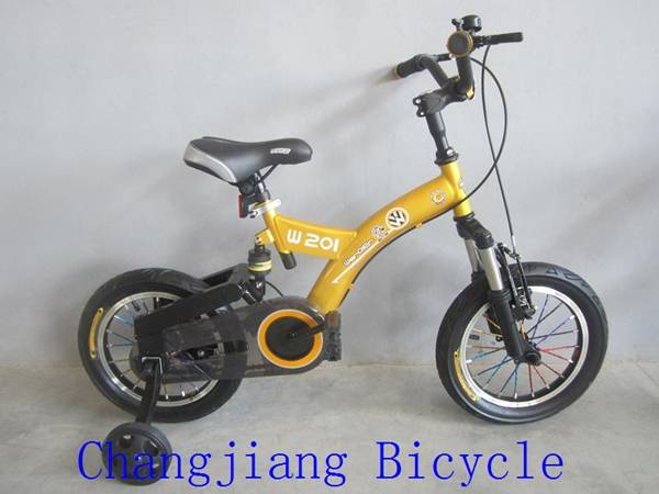beautiful high quality children bicycle with suspension
