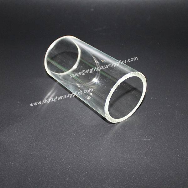 Polish Wall Thickness Fused Silica Glass Tube