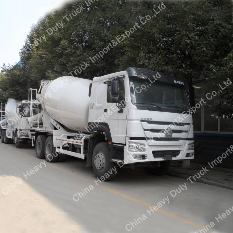 2016 Sinotruk HOWO 6*4 8cbm Cement Concrete Mixer Truck