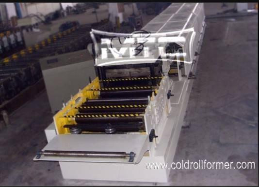 C /Z Purlin Quick Change Roll Forming Machine