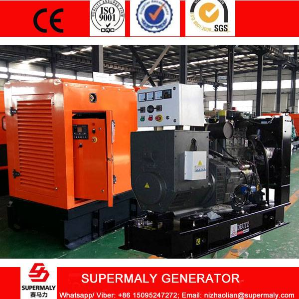 CE Approved 100KVA 80KW Diesel Generator by Weichai Deutz engine WP4D100E200