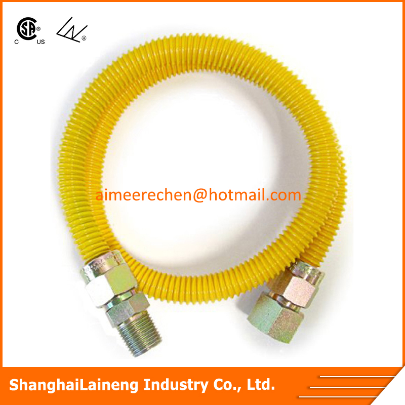 yellow lpg gas hose