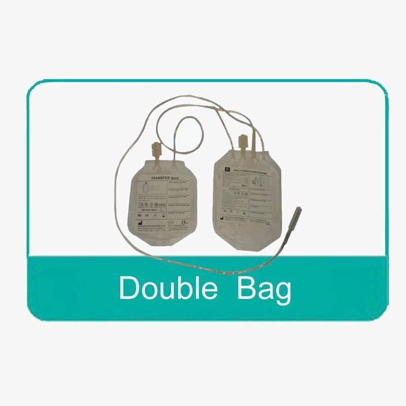 Double blood bag