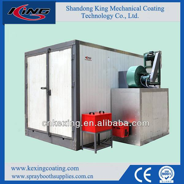 2015 High Performance Diesel Powder Coating Oven for Sale