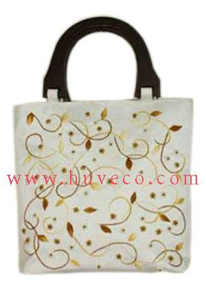 Embroidered Silk Bag