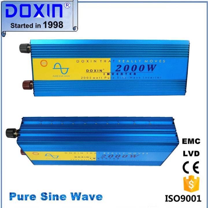 Doxin 2000w pure sine wave  inverter 12v 220v for ari conditioner