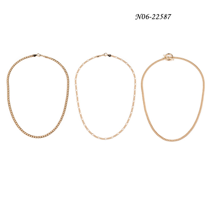 Chain N06-22587charm necklaces china fashion statement necklace