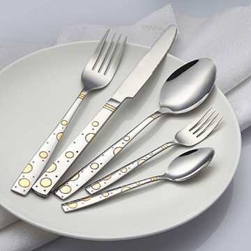 18/0 mirror polished spoons/forks/knives