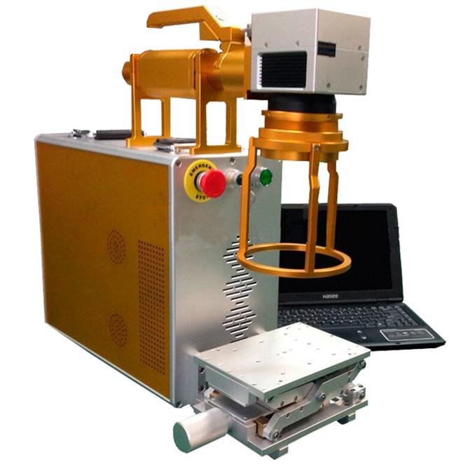 20w Portable metal fiber laser marking machine