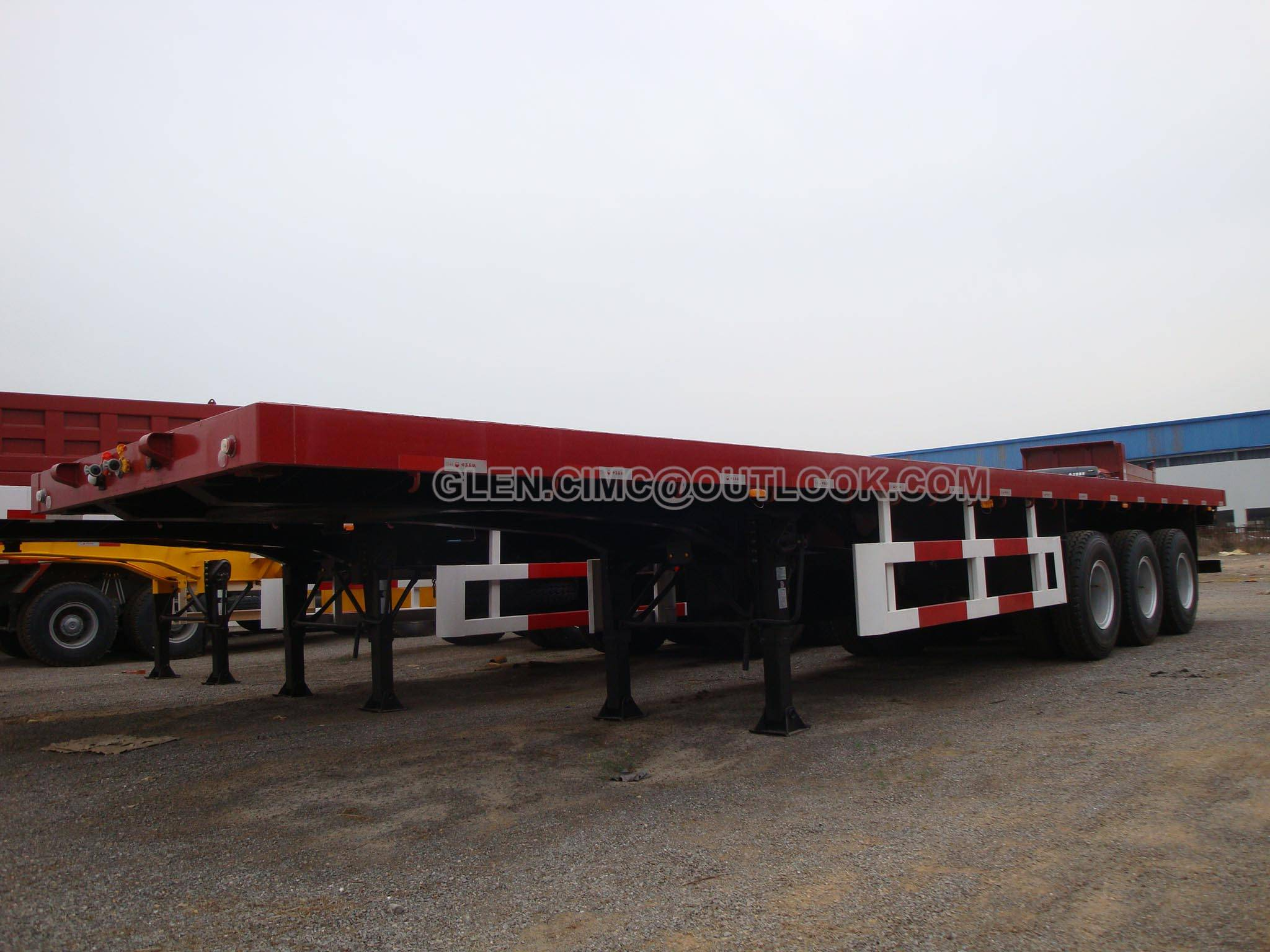 Flatbed Container Semi-trailers