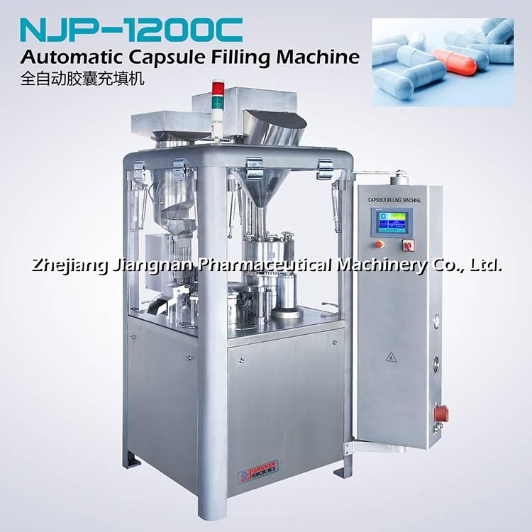 Automatic capsule filling machine NJP-1200